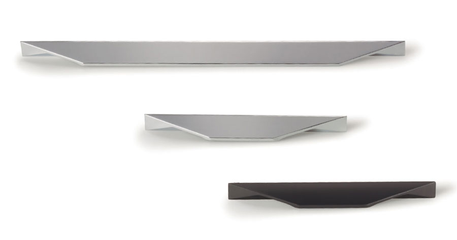 Cutt handle for kitchens, bedrooms and bathrooms decoration. Tirador Cutt de cocinas, habitaciones y baños by Viefe