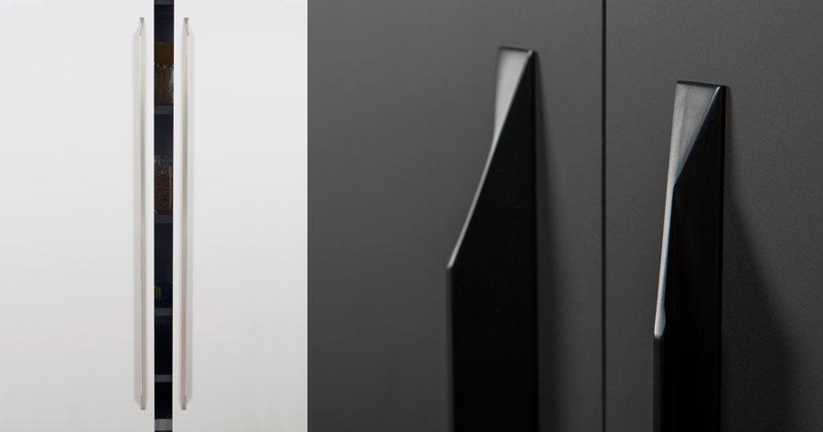 Cutt handle for kitchens, bedrooms and bathrooms decoration. Tirador Cutt de cocinas, habitaciones y baños by Viefe