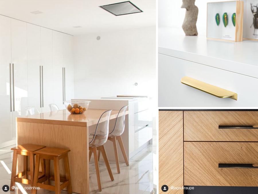 Making handles for dining room Tiradores para comedores Living Catalogo Catalogue Viefe