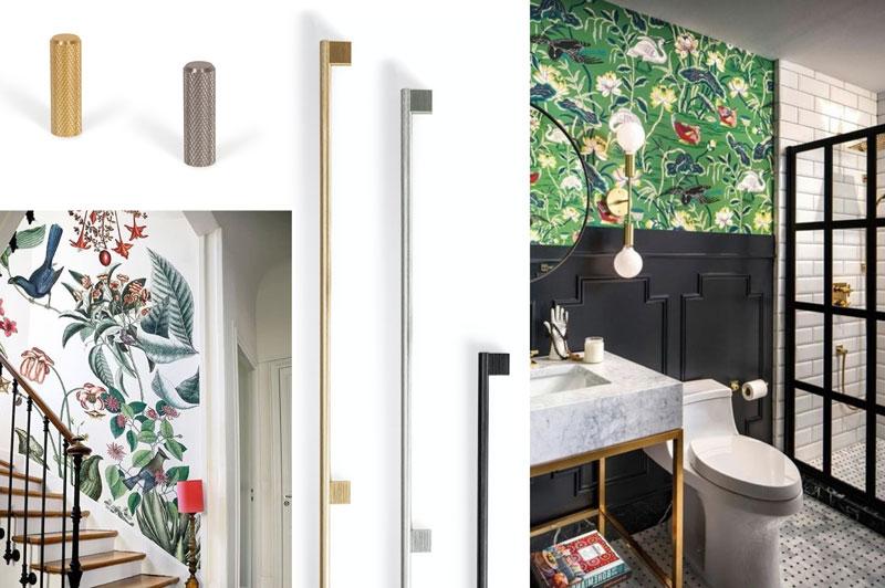 Exhibición de colores y texturas en las paredes Viefe