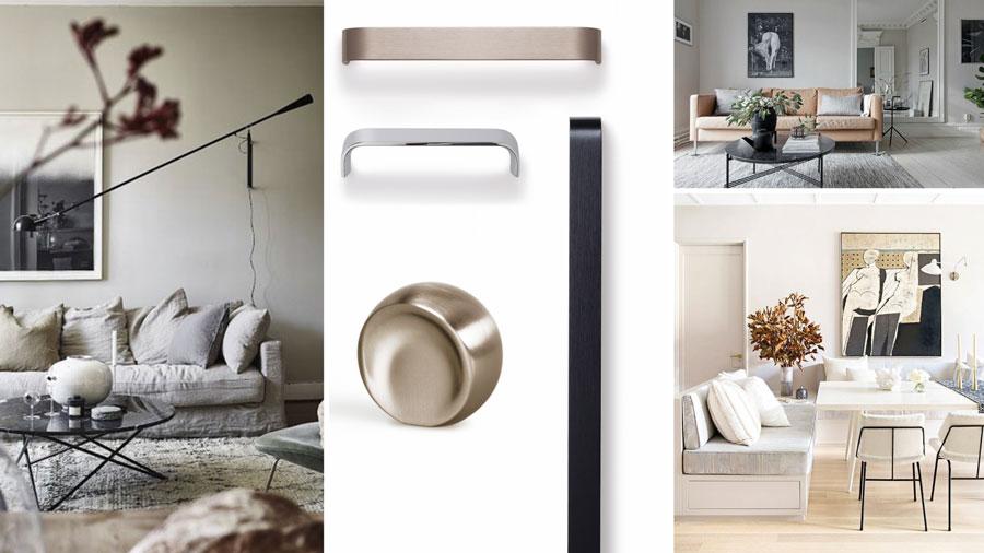 colores neutros pomos tiradores diseño interior neutral colours interior design knobs handles Viefe
