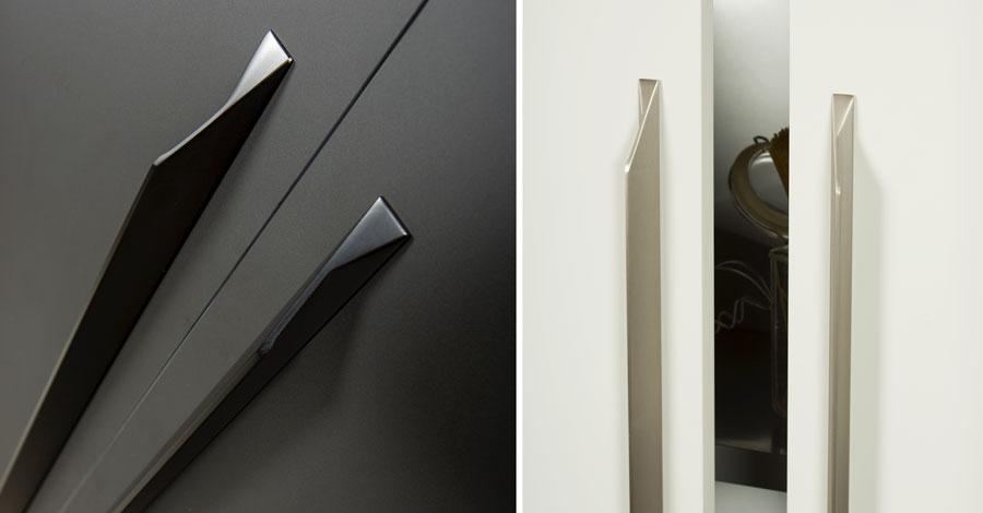 Cutt long handle for kitchens, bedrooms, offices and bathrooms. Tirador Cutt long para cocinas, habitaciones, oficinas y baños by Viefe®