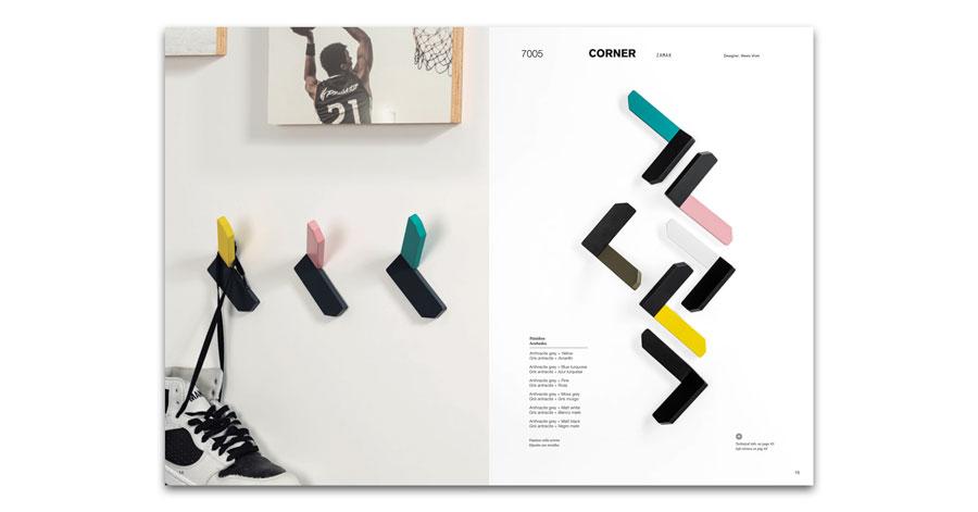 New catalogue wall hooks 2021 of Viefe Nuevo catalogo de colgadores de pared 2021 de Viefe