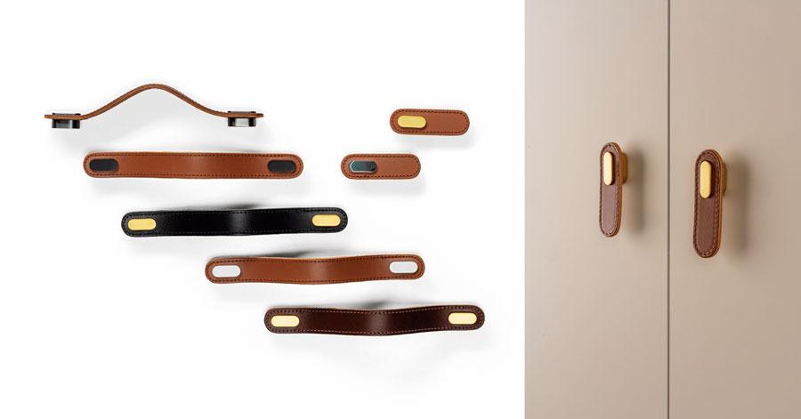 Oblong knob and handle for bedrooms offices and dressing rooms pomo y tirador Oblong para habitaciones oficinas y vestidores by Viefe